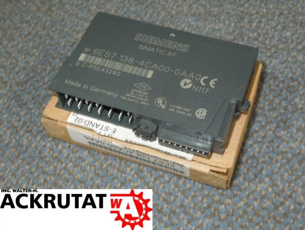 Siemens Simatic S7 Powermodul 6ES7 138-4CA00-0AA0 Modul E2 6ES7138 24V