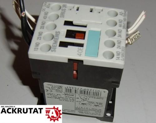 Siemens Sirius 3R 3RH1140-1BB40 4011209274341 E4 Modul 4OE Schütz