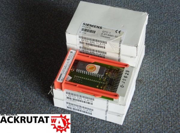 6 Siemens Simatic Speichermodul Eprom 6ES5-375-1LA15 E2 E3 Flash 6ES53751LA15