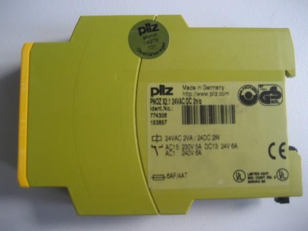 Pilz PNOZ X2.1 Not-Aus-Schalter Notaus 774306 Sicherheitsrelais