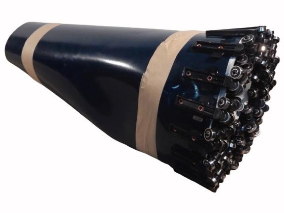 Kurvengurt 75° Gurtkurve Ersatzgurt Kurvengurtband Gurtbreite 690 mm Rollenlager