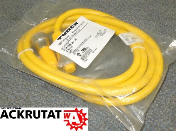Turck mini RYM RKM 36-4M Kabel Buchse 3 Pol 4m Stecker Datenkabel