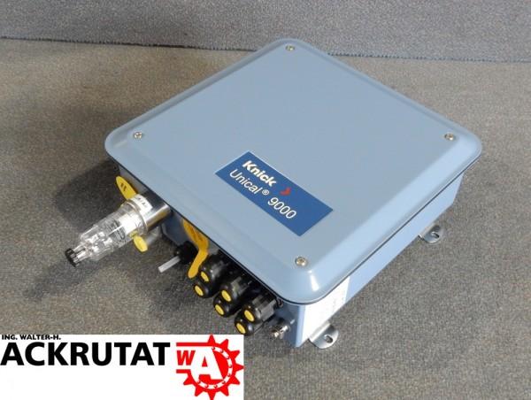 Sondensteuerung Knick Unical 9000 XC Steuerung Kalibriersystem Reinigungssystem