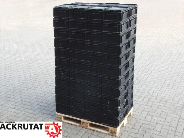 88 Schäfer EF 4170 Stapelbehälter mit Deckel Lagerkästen Lagerkiste Transportbox