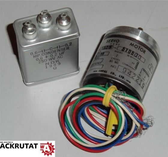 Copal Electronics SG-150S-510000 Servomotor Servo Motor