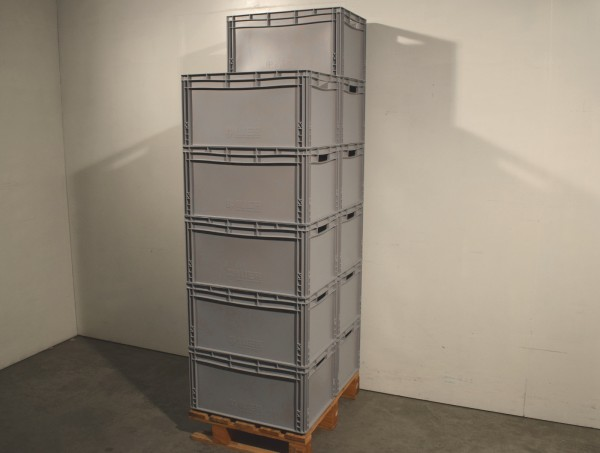 11 x Auer EG 6432 Euroboxen Stapelkisten Stapelbox Lagerkasten Eurobehälter
