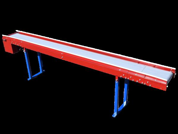Förderband L2900 B270 - Peem - Flachgurtförderer Gurtförderbahn Förderstrecke PVC-Glattgurt