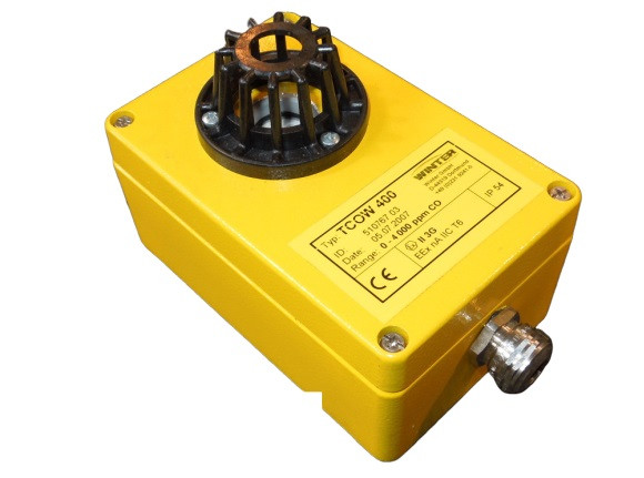 Winter TCOW 400 Gassensor Elektrochemisch Kohlenmonoxid Detektion Gasmelder