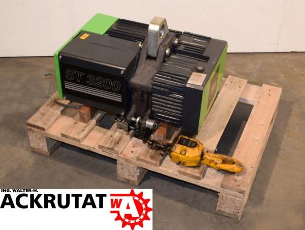 Elektrokettenzug Kettenzug Stahl ST 3200S Traglast 1600 kg Kran Hebezeug