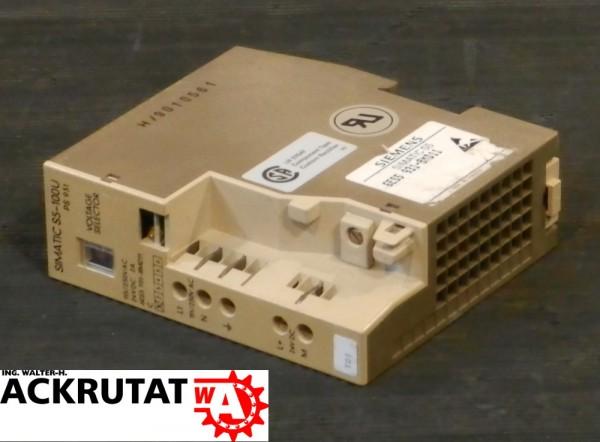 Siemens Simatic S5 6ES5 931-8MD11 E1 PS931 100-U Stromversorgung 6ES5931-8MD11