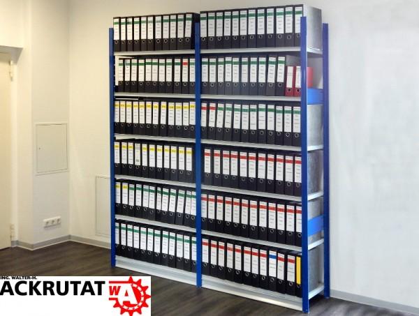 H2300 T410 L2050 Electrolux Fachbodenregal Archivregal Aktenregal f. 144 Ordner
