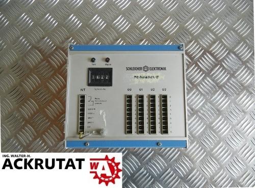 Schleicher Elektronik Promodul-K Steuergerät mit 4 Steckplätzen KSPS 4