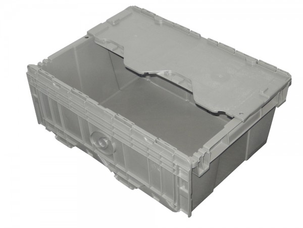 5x Stapelbox Orbis FP143 Deckelbox Stapelbehälter Kunststoffbehälter Lagerbox