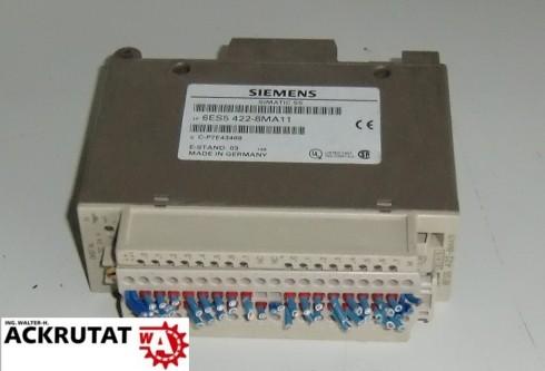 Siemens Simatic S5 6ES5 422-8MA11 E3 Digital Input Modul