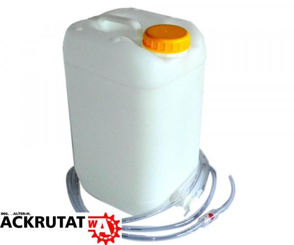 Wasserkanister Wassertank Kanister Tank Behälter Tränke 30 L mit Schlauch 4 m