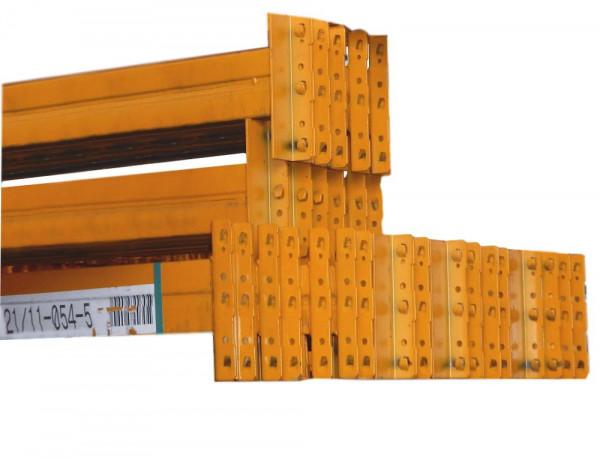 10x Jungheinrich Typ T Längstraversen 3700x120x50 mm Querbalken Stahlregal