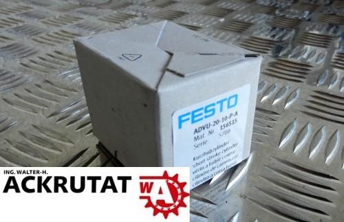 Festo Kompaktzylinder ADVU-20-10-P-A 156515 Hub Kolben Zylinder Neu