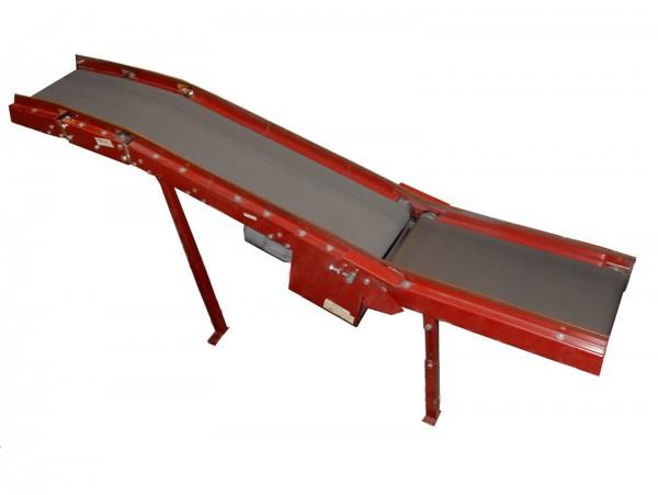 Förderband L2700 B280 - Peem - Flachgurtförderer Rillengurtförderband Stückgutförderer Transportband