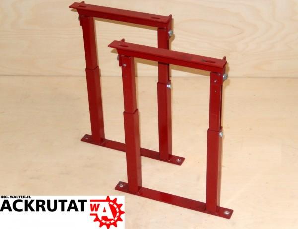 Kühlschrank Untergestell : 2 rote ständer untergestell fuß stütze gestell stützfüße stützböcke