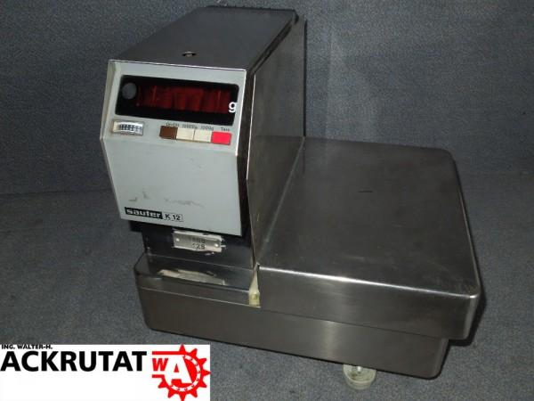 Präzisionswaage Sauter K12 Waage 12kg Feinwaage Digitalwaage