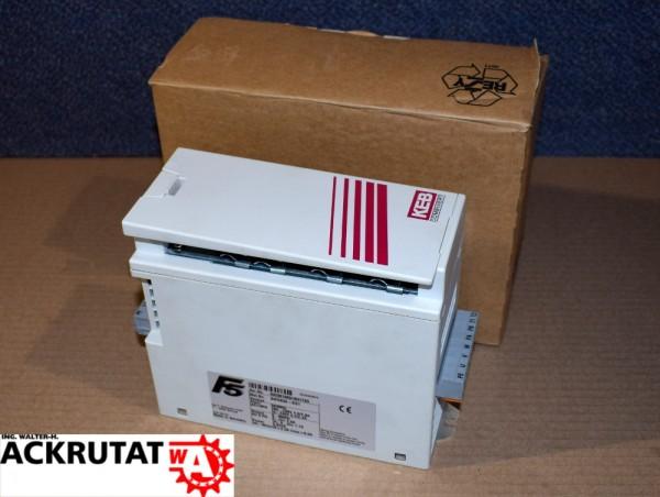 KEB Combivert 04F5S3A-2I21 Frequenzumrichter F5 Frequenzumwandler 0,8 kVA