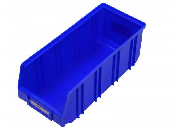 Lagersichtkiste Sichtlagerkasten Regalkiste Regalbox blau