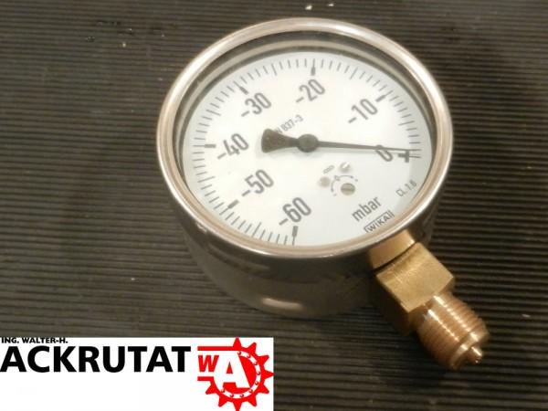 Wika Druckermittler 612.20 Barometer Manometer Druckmessgerät mit Kapselfeder