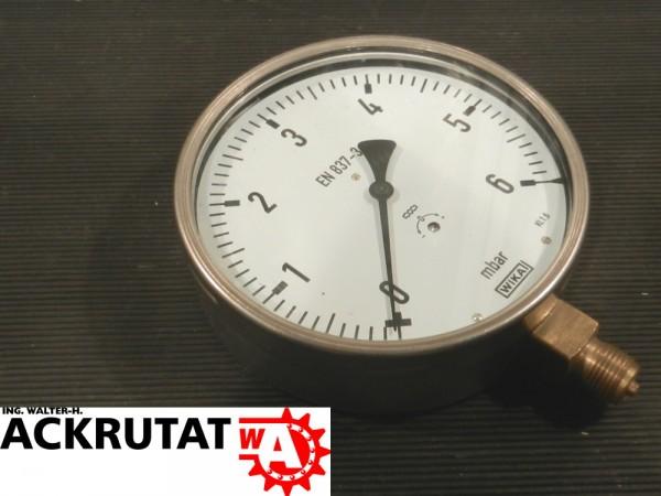 Wika Druckermittler 612.20 Druckmessgerät mit Kapselfeder Manometer Barometer