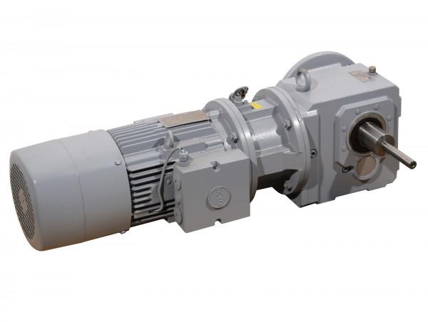 Stöber Kegelradgetriebemotor B21V 132S 4 LEN KL 0D TWS