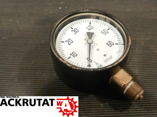 AB Armaturenbau-GmbH RE100 Druckmessgerät Druckmessgerät mit Rohrfeder Manometer