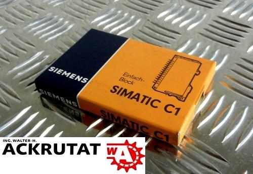 Siemens Simatic C2 6EC2 110-3A Modul Steuerung SPS
