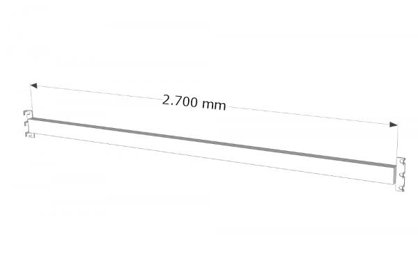 SLP Traversen Palettenregal LW 1825/2700/3600 orange Holm Träger Balken