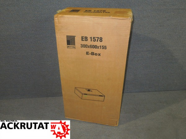 Rittal E-Box EB 1578.600 Gehäuse Kasten Schaltschrank Stahl Elektro-Box
