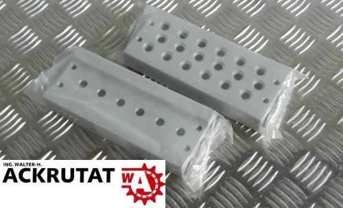 2 Stück Festo Anschlussblock PRS-1/8-6-B 11902 Block Verteiler 6 Ventilplätze