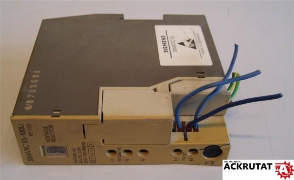 Siemens Simatic S5 6ES5 930-8MD11 E01 S5-100U PS930
