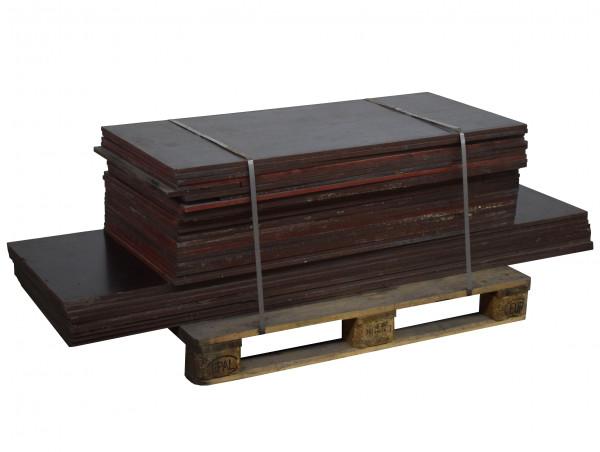 31x Siebdruckplatte L1250 / L1890 B550 Anhängerboden wasserfeste Platte