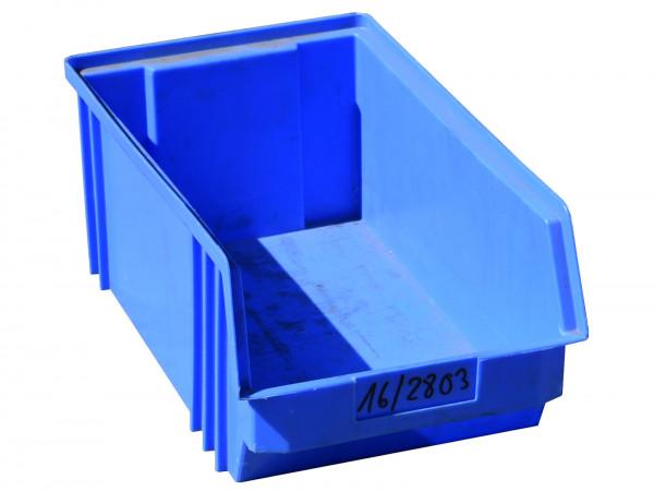 Sichtlagerkiste Kunststoffkiste blau stapelbar