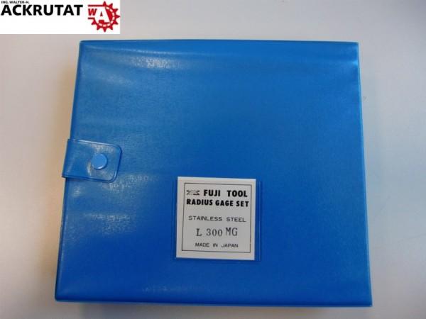 Fuji Tool Radius Gage Set L300 MG Radiusmessgerät NEU