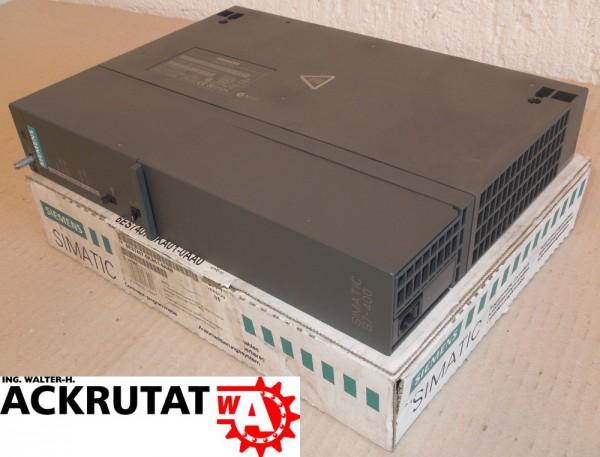 Siemens Simatic S7 6ES7407-0KA01-0AA0 Stromversorgung PS407 Power Supply Ver5