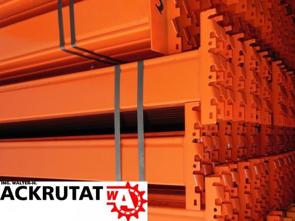 10x SLP Palettenregal Traverse orange LW3600 Schwerlast Regal Traversen Balken
