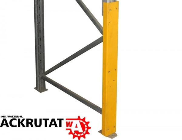 4x Pfostenschutzprofile Palettenregal Rammschutz Regalschutz Rahmenschutz
