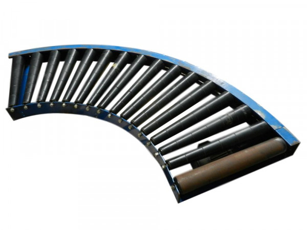 Schönau Rollenbahnkurve Rollenkurvenförderer 90° Förderbandkurve Rollenbahn