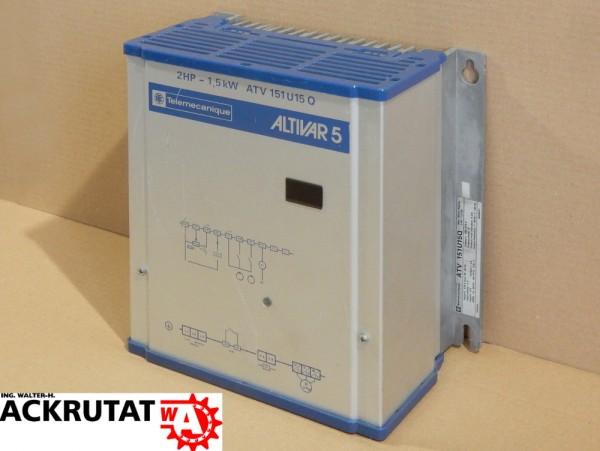 Frequenzwandler Telemecanique ATV 151U15Q Altivar 5 Inverter 1,5 kW Umrichter