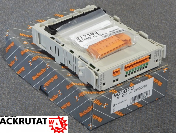 Weidmüller Digital Output Modul 24V 0,1A ML EG-DO 24/0,1 Digitalausgangsmodul