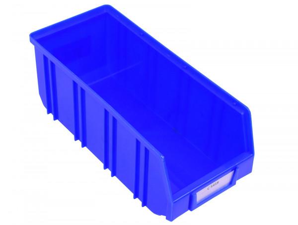 Lagersichtkiste blau Regalbox Regalkasten Sichtlagerkasten