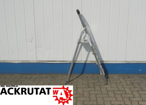 4 Stufen Leiter 8984-041 Aluminium Sicherheitsleiter Haushaltsleiter Stehleiter