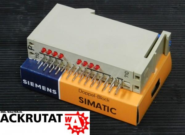 Siemens Simatic C1 6EC1 710-3A Doppelblock Modul Doppel-Block