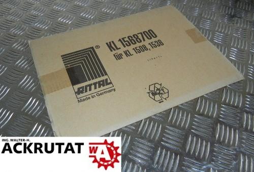 5 Montageplatten von Rittal KL 1568700 für KL1508, 1536 Neu OVP