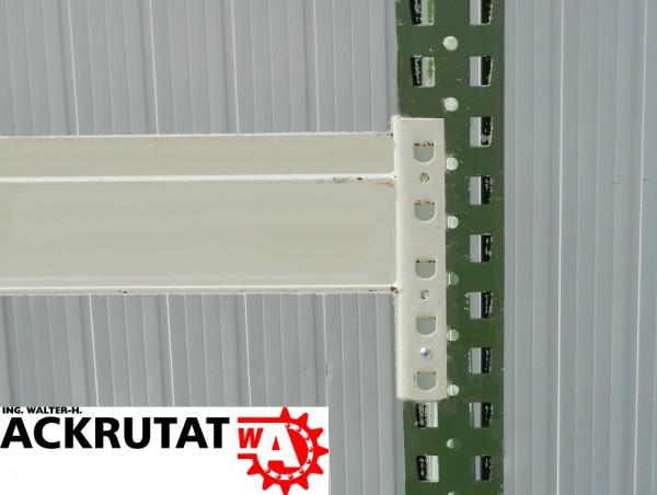 10 Gemac 2790 mm Palettenregal Regal Traverse lichtgrau Holm Balken Traversen