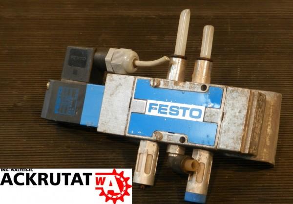 Festo Magnetventil MVH-5-1/8-L-B 19749 Ventil Pneumatik Luftdruck